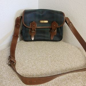 Vtg Polo By Ralph Lauren Leather Bag